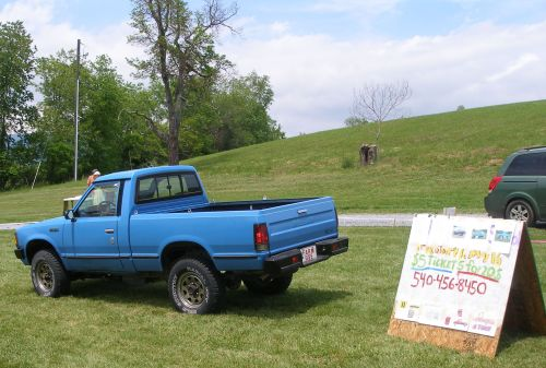 The little blue truck that everyone wanted