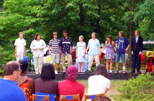 The nine graduates of 2009